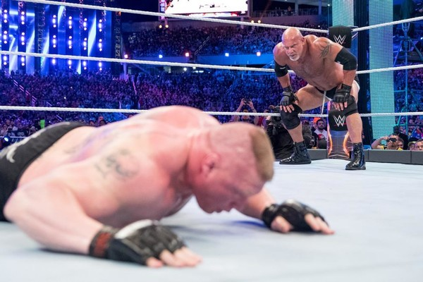 Goldberg Brock Lesnar