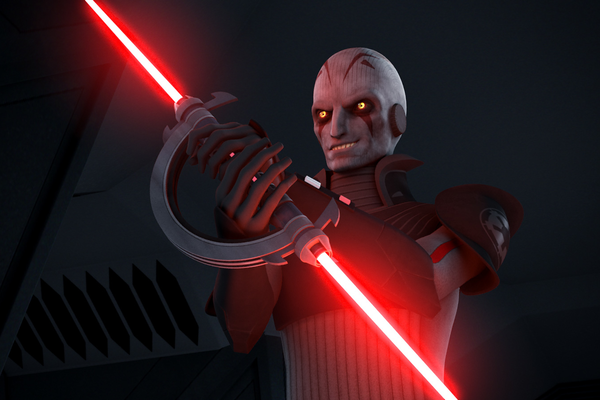 Grand Inquisitor Lightsaber