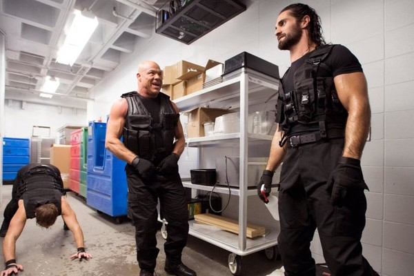 kurt angle the shield