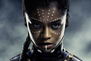 Black Panther Letitia Wright Shuri