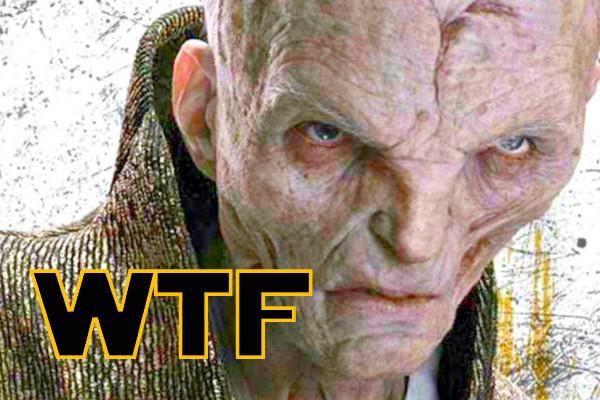 Snoke The Last Jedi WTF