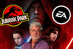 Star Wars The Last Jedi Jurassic Park EA