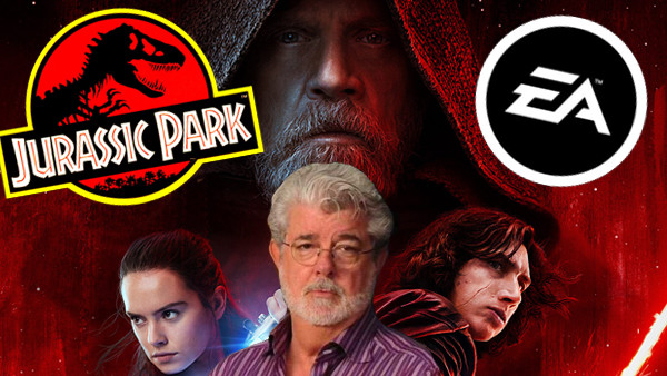 Star Wars The Last Jedi Jurassic Park EA