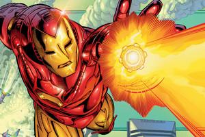 Iron Man Blast