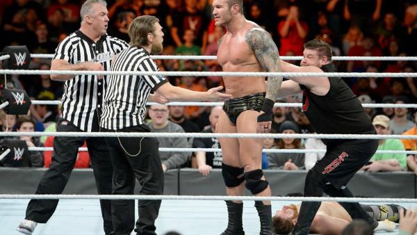 Daniel Bryan Shane McMahon Randy Orton Kevin Owens Sami Zayn