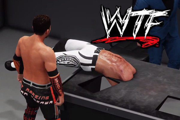 WWE 2K18 WTF