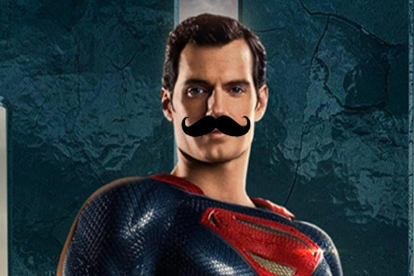 Justice League Henry Cavill Mustache