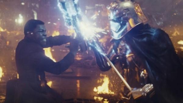 Star Wars The Last Jedi Finn Phasma