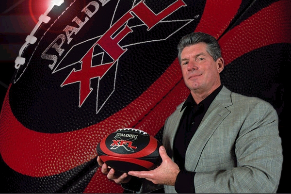 Vince McMahon is thinking about bringing back the XFL
