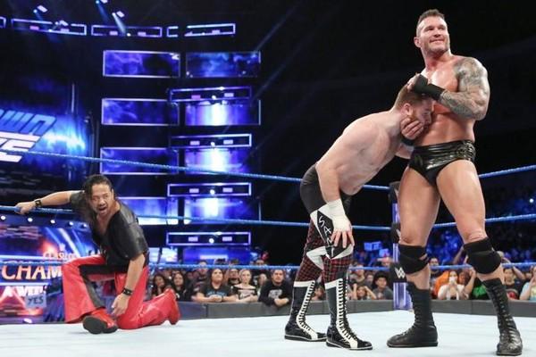 Shinsuke Nakamura Randy Orton Sami Zayn