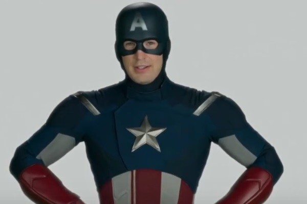 Spider Man Homecoming Captain America