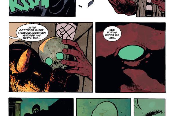 Hellboy Panel 3