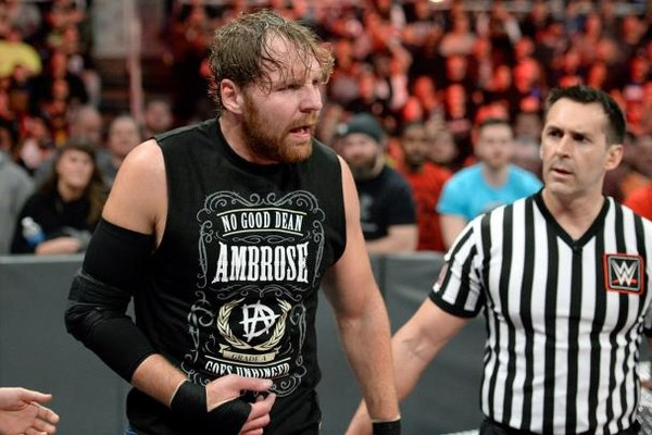 Dean Ambrose suffers arm injury on Raw