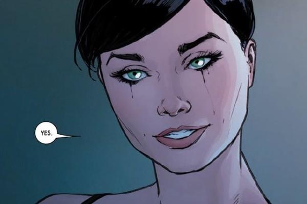 Batman 32 Catwoman Marriage