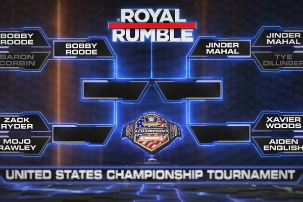 Wwe United States Title Tournament Bracket Revealed