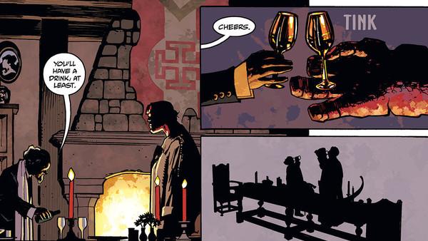 Hellboy: Krampusnacht Panel 1