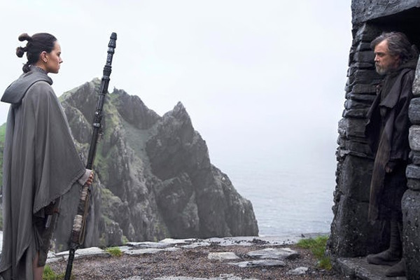 Star Wars The Last Jedi Rey Luke