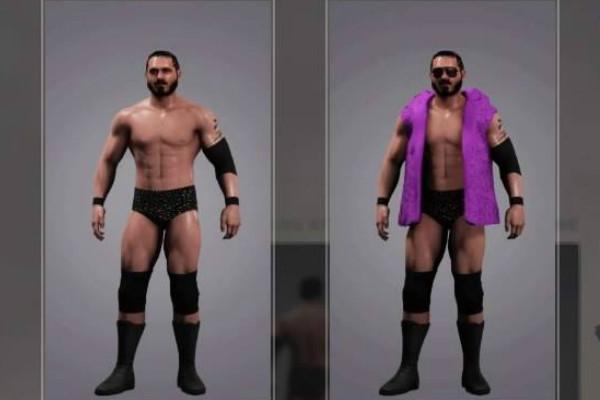 Austin Aries WWE 2K18