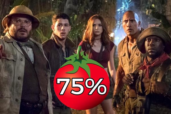 Jumanji Rotten Tomatoes