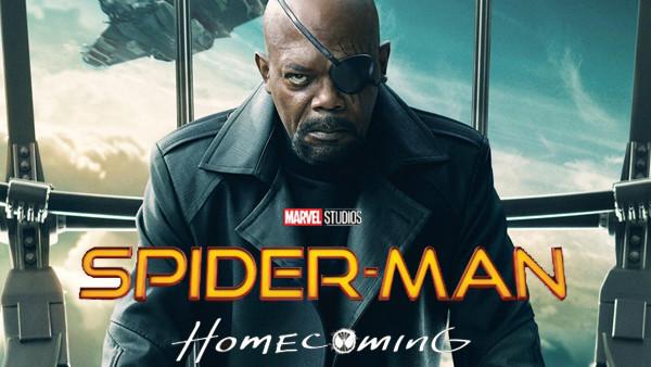 Spider Man Homecoming Nick Fury