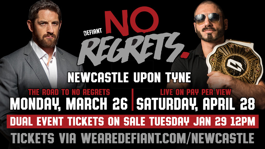 No Regrets Rumble Returns To Newcastle