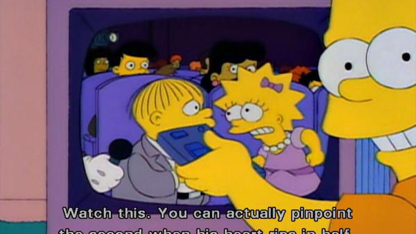 Ralph Wiggum Heartbreak The Simpsons
