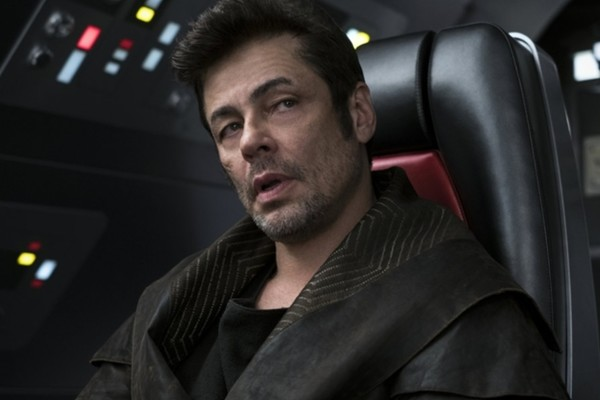 Star Wars The Last Jedi Benicio Del Toro Dj