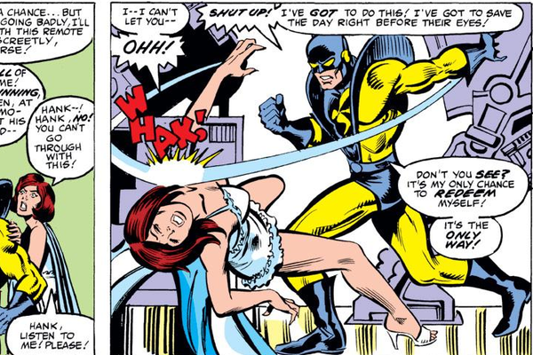 Image result for hank pym slap