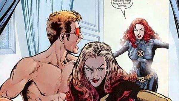 New X-Men Emma Frost Scott Summers Affair