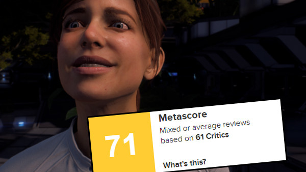 Mass Effect Andromeda Metacritic