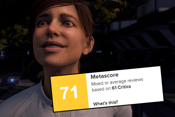Mass Effect Andromeda Metacritic
