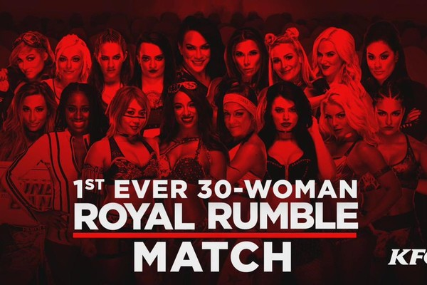 Womens royal rumble banner