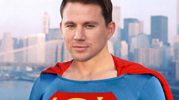 Channing Tatum Superman