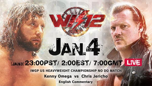 Kenny Omega Chris Jericho Wrestle Kingdom 12