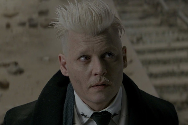 Fantastic Beasts And Where To Find Them Johnny Depp Gellert Grindelwald