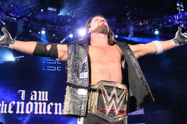 AJ Styles WWE