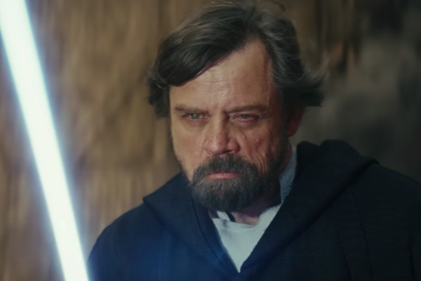 Mark Hamill As Luke Skywalker In The Last Jedi