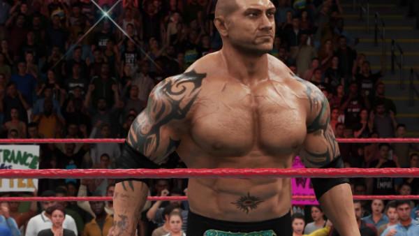 Batista WWE 2K18