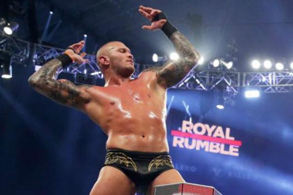 Randy Orton Royal Rumble 2017