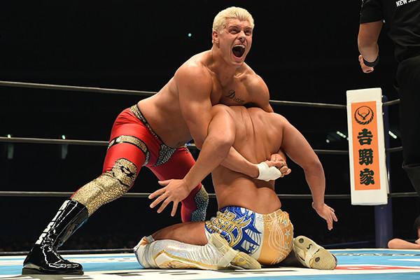 Cody Rhodes Kota Ibushi