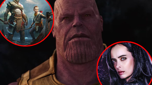 Avengers Infinity War God Of War Jessica Jones