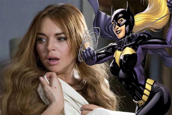 Batgirl Lindsay Lohan