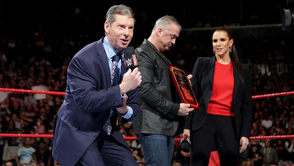 Vince Mcmahon family