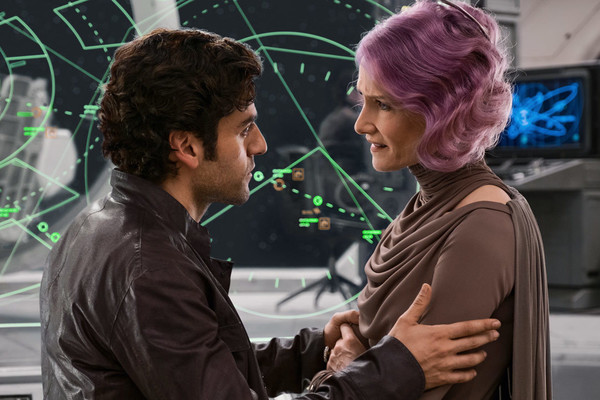 Star Wars The Last Jedi Poe Holdo