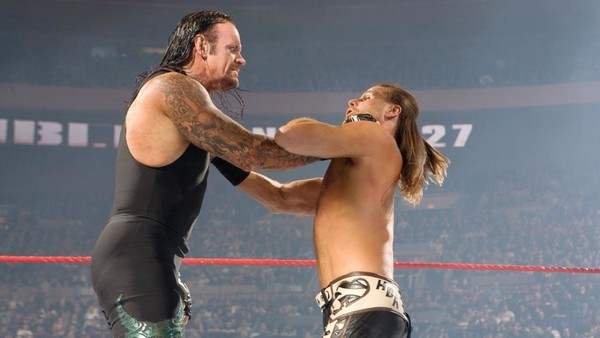 the undertaker shawn michaels royal rumble 2008