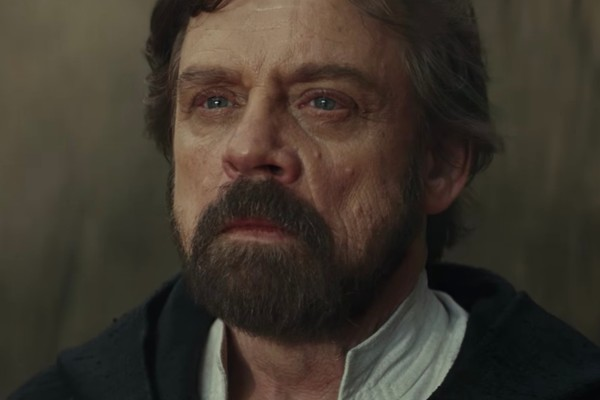 The Last Jedi luke skywalker