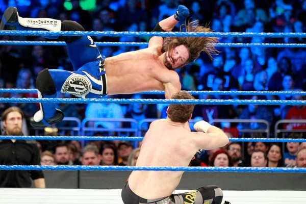 AJ Styles Sami Zayn