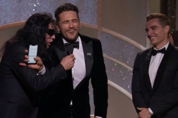 Golden Globes 2018 Tommy Wiseau James Franco Dave Franco