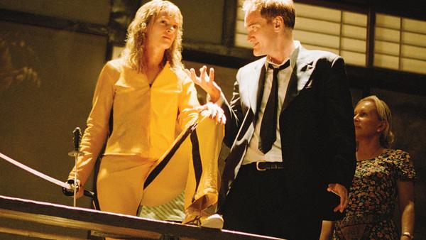 Quentin Tarantino Uma Thurman