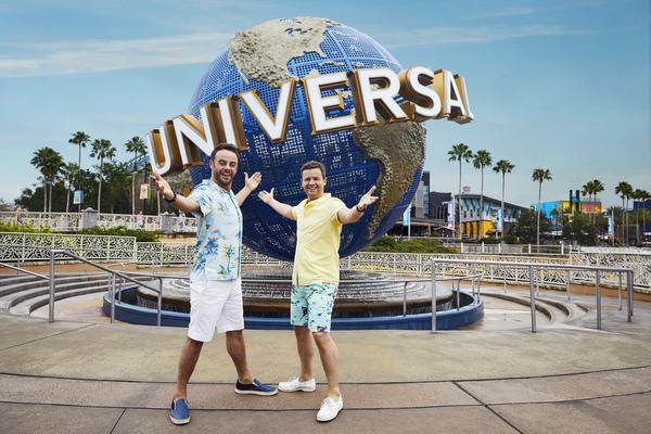 Ant and Dec Universal Orlando Resort